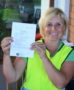 Certifikát ze zážitkového kurzu první pomoci - PrPom