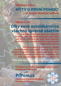 Mýtus 50 - o nové autolékárničce