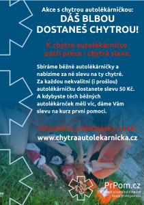 Sleva na chytrou autolékárničku od PrPom.cz