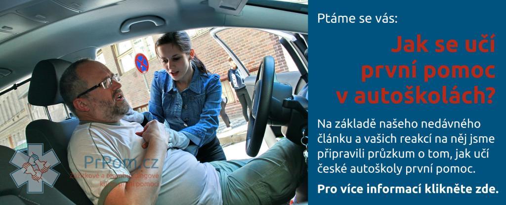 PRŮZKUM: Jak se učí první pomoc v autoškolách?