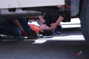 Mýtus 17 — Při dopravní nehodě je potřeba dostat všechny ven z auta.