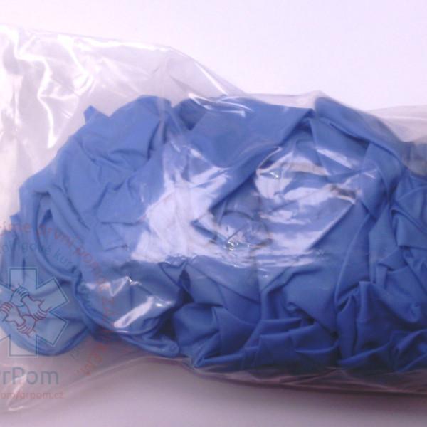 Rukavice vyšetřovací — různé barvy, nitril