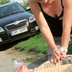 Resuscitace, dospělí, první pomoc