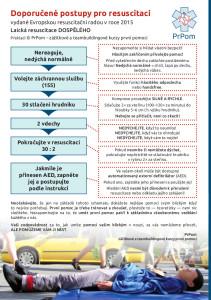 Jak resuscitovat — doporučené postupy KPR 2015 — PrPom