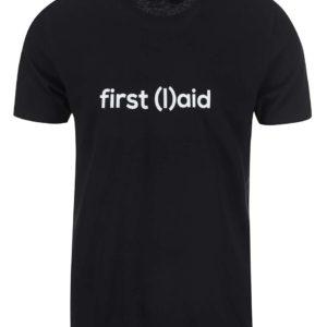 Tričko PrPom od ZOOT — first (l)aid — černé