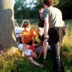 Outdoor teambuilding aprvní pomoc