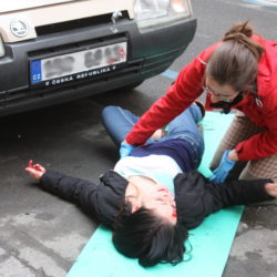 Vyšetření pacienta, první pomoc