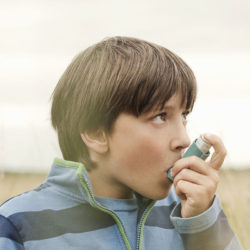 astmatický záchvat, inhalátor