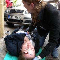 dopravní nehoda - jabok