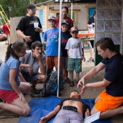 Výuku první pomoci zážitkem jsme pojali jako sociálně prospěšné podnikání.