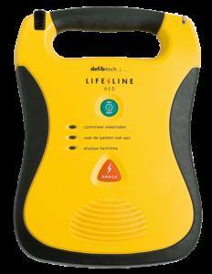 AED Lifeline od Defibtech — automatizovaný externí defibrilátor — PrPom