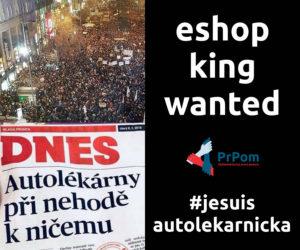 Pojď spravovat jediný eshop v ČR, který média použila k manipulaci! PrPom hledá správce eshopu