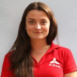 Kristýna Danešová — lektorka, maskérka poranění